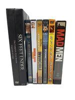Mad Men Six Feet Under DVD Lot 7 Titles 14 Discs Free Shipping