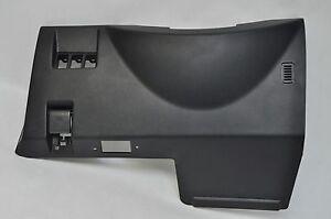 2005 INFINITI G35 FRONT LEFT LH UNDER STEERING COLUMN BEZEL TRIM PANEL BLACK OEM