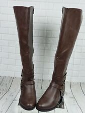 Torrid Womens Knee Harness Boots Size 11W Brown New