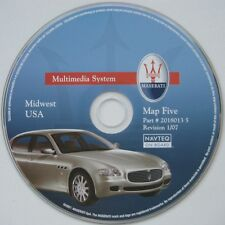 2004-2008 Maserati Quattroporte Navigation Map #5 Midwest MI Partial WI IL IN OH