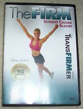 The Firm Transfirmer Ultimate Calorie Blaster DVD Workout Fitness Exercise
