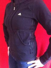 Must Have adidas Mujer Sudadera Suéter Negro Fitness Chaqueta Talla 34 36 40 44