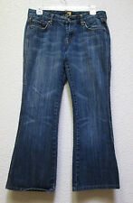 7 Seven For All Mankind Low Bootcut Womens Denim Blue Jeans size 29X29