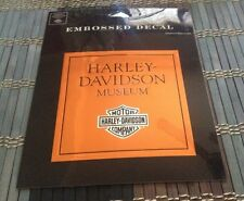 NEW - Authentic - Harley Davidson Decal - Embossed Decal