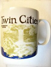 TWIN CITIES,Starbucks Coffee Mug,Collectors Series,City View
