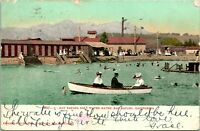 Vtg Postcard 1907 San Rafael Salt Water Baths - San Rafael CA Undivided