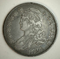 1826 Capped Bust Half Dollar Silver Fifty Cent US Type Coin Extra Fine XF