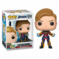 FUNKO POP! VINYL AVENGERS ENDGAME CAPTAIN MARVEL SHORT HAIR #576 ** PREORDER **