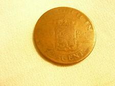NEDERLAND 2 1/2 CENT INDIE COPPER COIN