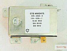 Cts Knights Crystal Oscillator 10 Mhz 970-2038-0 119-1576-01 S/N 00105 D/C 9916