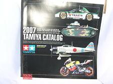 TAMIYA CATALOGO EDICION 2007 ENGLISH/SPANISH  NUEVO  106  PAGINAS