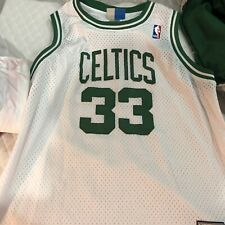 Larry Bird Reebok Boston Celtics Hardwood Classics Youth XL stitched vintage