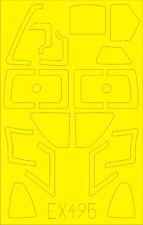 Eduard Models 1/48 Douglas EKA-3 Skywarrior Paint Mask for Trumpeter kit #02872