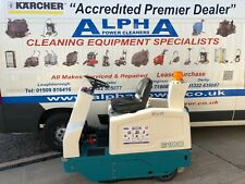 More details for tennant 6100 battery ride on floor sweeper