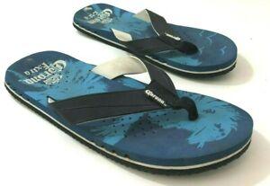Corona Extra Logo Mens 9M Flip Flops Blue