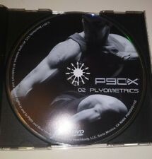 P90X Replacement DVD Disc 02 Plyometrics Tony Horton Beachbody Home Fitness
