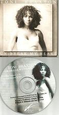 TONI BRAXTON Un Beak My Heart RARE SPANISH version LIMITED USA CD single unbreak