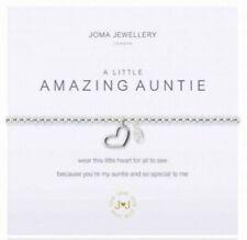 Joma Jewellery a Little Amazing Auntie Silver Plated Bracelet