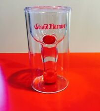 One New Grand Marnier Plastic Upside-Down Shot Glass - 2016 Edition