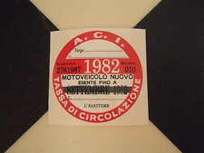 Imposta ITALIANO DISCO 1982-FIAT 500 600 126 LANCIA BETA GIULIETTA ALFA GTV6 ABARTH
