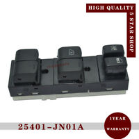 New 25401-JN01A Drive Window Lifter Switch for Nissan Tiida 2011-2014 254221KL5A
