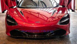 McLaren 720s Carbon Fiber Front Bumper Splitter Lip Direct Replacement NEW! USA!