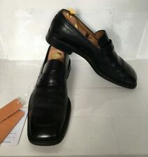 Louis Vuitton UK 10 Black Leather Shoes Slip On