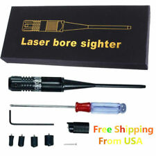 Red Dot BoreSighter kit for .22 .50 Caliber Pistols Rifles Handgun Bore Sight US