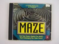 MAZE CD PC Game - The World Maze Guide by Dragonfire Research/MECA Software