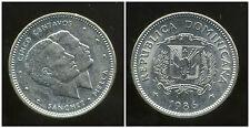 REPUBLIQUE DOMINICAINE 5 centavos  1986