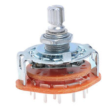 4 Way Guitar Amplifier Rotary Switch 1 pcs 4Way Switch For Custom Wiring