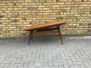 Kia Kristiansen Metamorphic table/elevator table/1960's Danish table