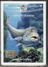 Dvd **BIG FISH ADVENTURES ♦ I DENTICI DI ISOLA ROSSA ♦ PESCA** nuovo