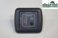 Campervan/Motorhome CBE Leisure Battery Condition Monitor,  CBE Battery Tester