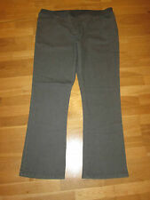 cotton traders grey  pull on bootcut jeans size 10 leg 27 brand new with tag