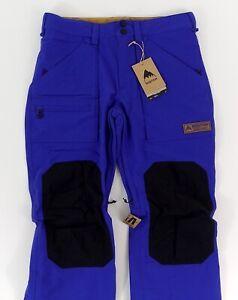 Burton Southside Men's Snowpants in Royal Blue/Black SZ M ~ BRAND NEW!