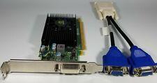 Dell Optiplex 760 780 790 980 990 ATX Dual Monitor Windows 10 VGA DVI Video Card