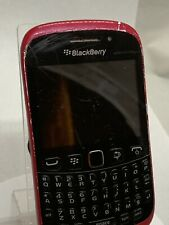 BlackBerry Curve 9320 ( Unlocked )Black And Red Smartphone