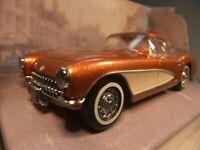 1:43 Matchbox Dinky DY-23B - 1956 Chevrolet Corvette - Bronze / Cream