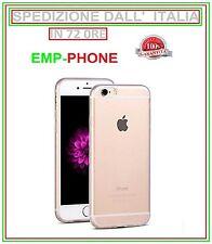 Cover Custodia Trasparente Slim + Pellicola Vetro Per Apple Iphone 6 e 6S Plus