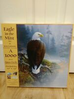 Eagle In The Mist - Art by Jerry Gadamus - 1000 Pc Sealed Puzzle - Sunsout 49032