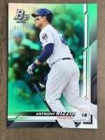 Anthony Rizzo 2019 Bowman Platinum #30 - GREEN Holo-Foil Parallel #'d /99 CUBS