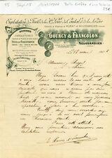 Dépt 15 - Neussargues & Murat - Belle Entête d'un Exploitant Forestier de 1906