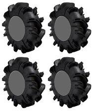 Four 4 Gorilla Silverback ATV Tires Set 2 Front 30x9-14 & 2 Rear 30x11-14