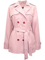 New Ex M&S Women Belted Trench Mac Coat with Stormwear Jacket Size 6-20 RRP £40