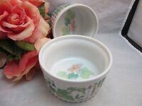 2x MANN ceramic ramekins. Morning Glory. Custard cups