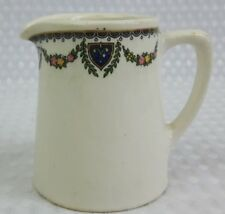 Globe Pottery Small 1930s 1/4 Pint Milk Cream Jug For Canada Export - Vintage