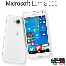 Telefono Cellulare MICROSOFT LUMIA 650 Nokia Windows 10 phone RM-1152 BIANCO 4G