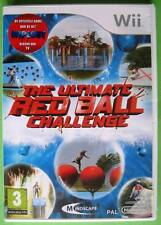 ★☆☆ Nintendo Wii game - The Ultimate Red Ball Challenge ☆☆★