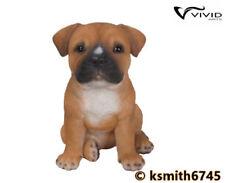 Vivid Arts Pet Pals STAFFORDSHIRE BULL TERRIER PUPPY resin animal dog  NEW 💥